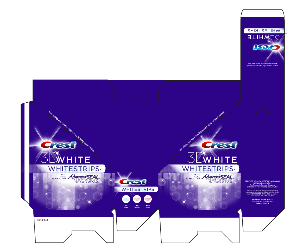 Crest Whitestrips - Retail Packaging